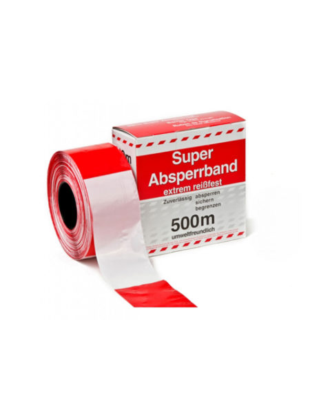Super Absperrband 500 meter extrem reissfest