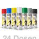 24er Set Strassenmarkierungsfarben